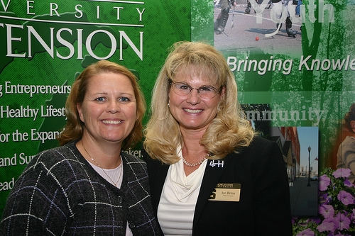 Award winners were all smiles at the 2008 Fall Extension Conference.