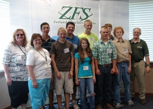 campers at Zeeland Farm Services