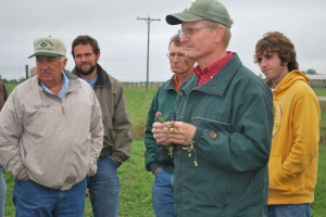 Jerry Lindquist discusses various forage plants.