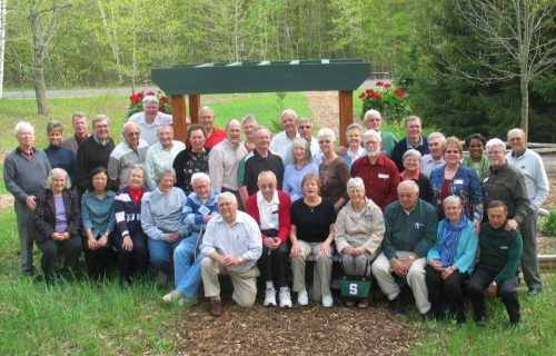 MSUE and 4-H retirees gather at Kettunen Center May 19 for a reunion.