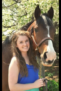 Emily Love and her horse