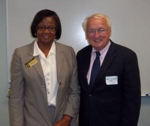 Leatta Byrd & USDA Undersecretary Kevin Concannon