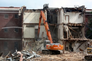 Michigan State University Morrill Hall demolition
