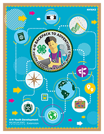 cover of 4-H Backpack to Adventure