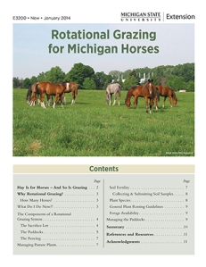 E3200 Rotational grazing
