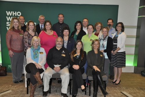 Photo of everyone on the Fall Extension Conference Committee.